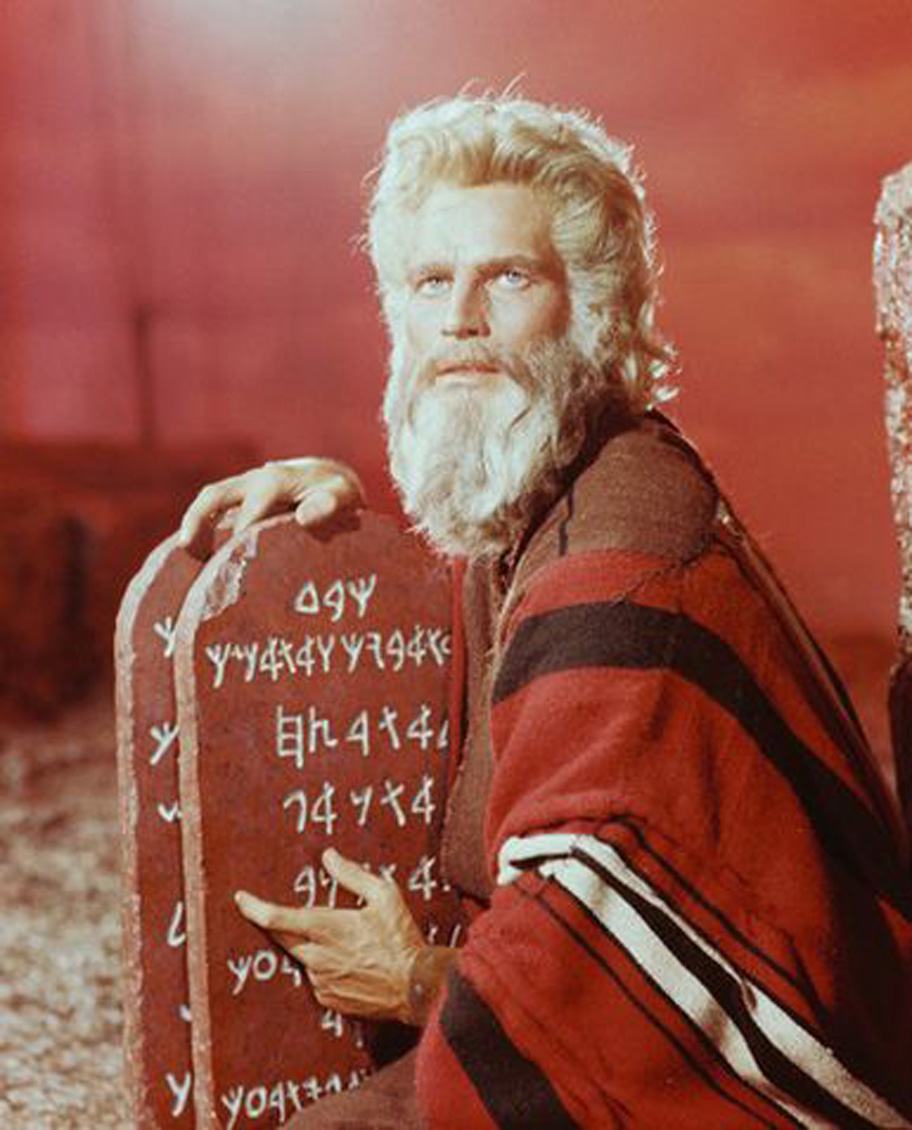 S.G. Browne » ten commandments